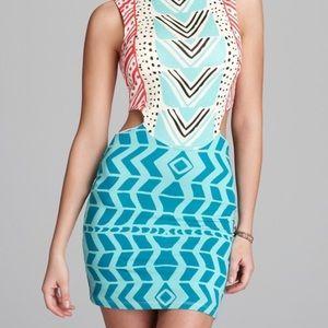 Mara Hoffman side cut out dress